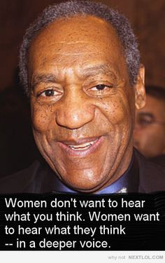 Bill Cosby on What Women Want. #funny