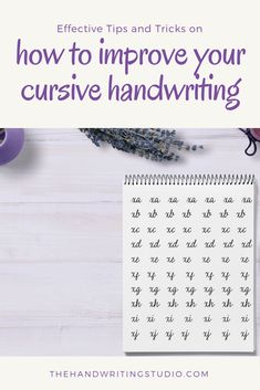 Learn how to improve your cursive handwriting - Ladanaka - Pint Perfect Handwriting, Learn Handwriting, Improve Your Handwriting, Handwriting Analysis, Cursive Handwriting, Penmanship, Handwriting Examples, Learning Cursive, Cursive Writing Worksheets