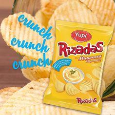 Siente el cruuuuuuunch con el sabor más delicioso, #Rizadas Mayonesa.