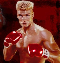 Dolph lundgren from Rocky 4