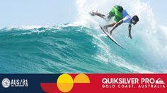 Slater vs. Coffin vs. Medina - Quiksilver Pro Gold Coast 2017 Round Four...