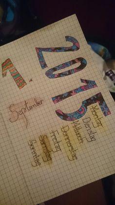 Musik und der Anfang eines neuen Notebooks Notebooks, Bullet Journal, Music, Notebook, Laptops