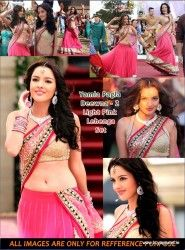 Kristina Akheeva Bollywood Light Pink Lehenga in Yamla Pagla Deewana 2 at 65 USD Only