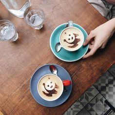 Panda lattes