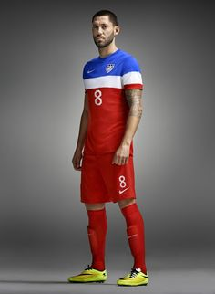 648a33962 USA 2014 World Cup Away Kit. Mostly I like it. I wish the red