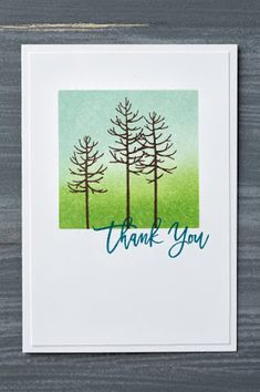 Klompen Stampers (Stampin' Up! Demonstrator Jackie Bolhuis): More Cards With Thoughtful Branches
