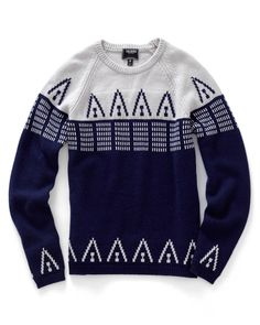 Cashmere Patterned Raglan Sweater
