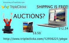 STOP overpaying for penny auction bids. Win brand new, brand name auction items with bids as low as 29 cents each! Auction Bid, Auction Items, Penny Auctions, Brand Names