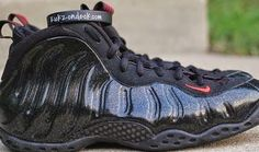 THE SNEAKER ADDICT: Nike Air Foamposite One Sample Black/Gold Speckle ...