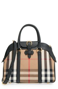 Burberry 'Medium Milverton - House Check' Satchel