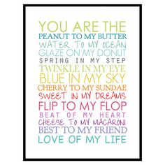 Too cute!  You Are Framed Print at Joss & Main