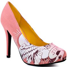 This Ed Hardy pump is simply irresistible with its versatile silhouette but fun pop of color. Emma features a coral canvas upper with a perfect 4 inch heel. A screen print at the vamp shows off this heel and will highlight any outfit. Aldo Shoes, Steve Madden Shoes, Don Ed Hardy, Alternative Shoes, Coral Shoes, Jessica Simpson Shoes, 2 Inch Heels, Shoe Brands, Pumps