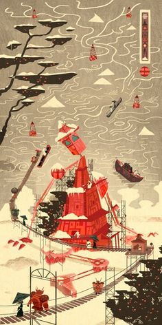 Edo 1 - Thawing of the Giant (Giclee Signed Limited Edition of 50) by Graham Carter