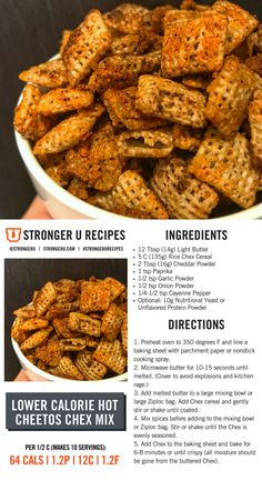 Healthy Protein Snacks That Pack a Punch High Protein Desserts, Healthy Protein Snacks, Diet Snacks, Healthy Recipes, Macro Friendly Recipes, Clean Eating, Healthy Eating, Macro Meals, Diet Soup Recipes