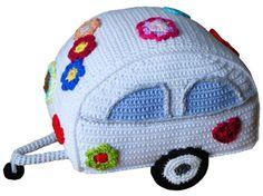Crochet Pattern 002: Hippie Trailer por CrochetPerfect en Etsy
