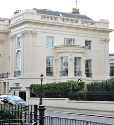 The world's most expensive terraced house - One Cornwall Terrace, London overlooking Regent's Park, built in the 1820's by Decimus Burton & overseen by John Nash has gone on the market for one hundred million pounds.