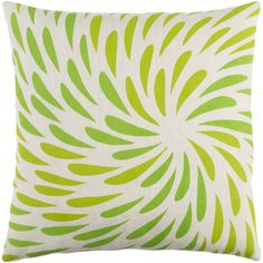 Colorful movement makes up this Eye of the Storm pillow by designer @emmahome for Surya (ES-003).