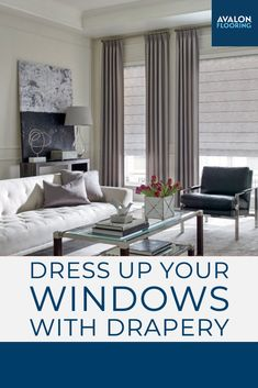 Using Hunter Douglas Drapery Panels can transform your home interior and make your home look finished