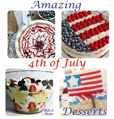 Independence Day Desserts #4thofjuly