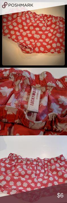 Lucky Brand Sleep Shorts Lucky Brand Sleep Shorts Size large  F Lucky Brand Intimates & Sleepwear