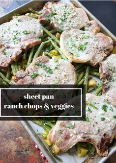 Sheet Pan Ranch Chop