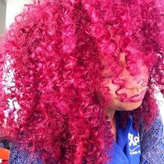 This beautiful bubblegum gives everyone a new appreciation for the color pink. | Community Post: 15 Gorgeous Photos That Prove Natural Hair Looks Great In Any Color