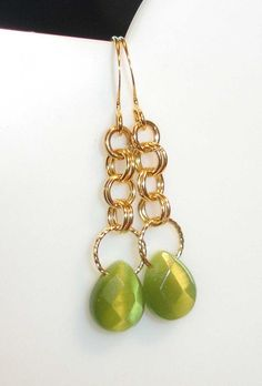 chain maille earrings-