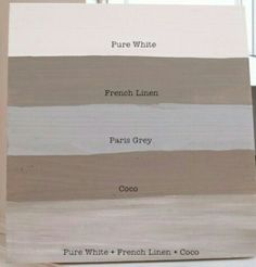 Annie Sloan chalk paint in Coco or French Linen for my China hutch
