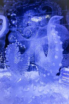 Ice Sculpture Festival In Saint Petersburg – Travel Cultura Snow Sculptures, Sculpture Art, Metal Sculptures, Abstract Sculpture, Bronze Sculpture, Modern Magic, Ice Art, Octopus Art, Ice Castles