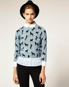 The Pineneedle Collective: Do-it-yourself Hand Painted Deer Print T-Shirt