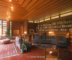 Herbert and Katherine Jacobs (Jacobs 1) House / Location: 441 Toepfer Ave., Madison, WI / Built: 1937 / Style: Usonian / Designer: Frank Lloyd Wright