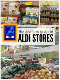 How to Save Money on Groceries & the best items to buy at aldi stores!