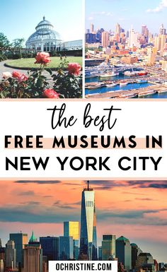 Here's my list of 9 Museums you can visit for free in New York City! If you are looking to visit New York City on a budget these museums are perfect to put on your list. NYC on a budget New York Trip Planning, Planning Budget, Visit New York City, New York City Travel, Bank Of America Card, Nyc Itinerary, York Things To Do, Free Nyc, New York Vacation