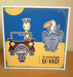 Gerda Steiner Go Wild Stamp Set