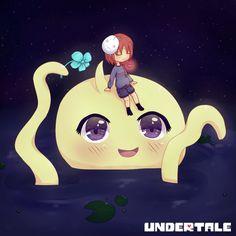 Undertale Cryaotic and Onionsan fan art