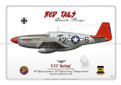 "P-51C, My Buddy ""red tails"""