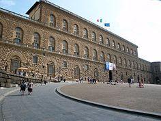 Palais pitti - Luca fancelli - Florence - 1458-1466 devient résidence des Médicis 1570 - lieu de la cour mediceenne.