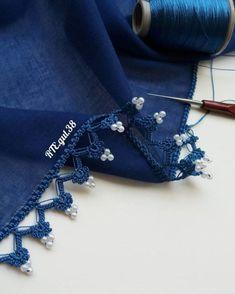 Görünce Şaşıracağınız 36 Tığ İşi Boncuklu Oya Modelleri Loom Patterns, Baby Knitting Patterns, Balochi Dress, Crochet Borders, Needle Lace, Eyes, Blue, Shirts, Dresses