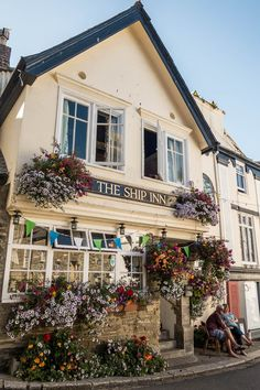 The Ship Inn in Fowey - Cornwall, England