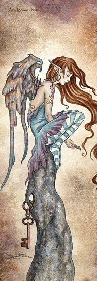 ➗Amy Brown: Fairy Art -