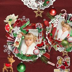 """""""Joyeux Noel"""" NEW Collection by Vero the french touch @ thedigichick $1 per pack till 12/10 http://www.thedigichick.com/shop/Vero-The-French-Touch/ photos by Ira Bachinskaya https://www.facebook.com/ira.bachinskaya"""