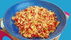 Desayuno saludable de huevo a la mexicana, healthy breakfast