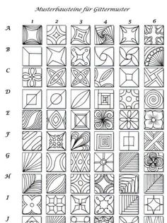 Doodle Patterns 318277898669314782 - 51 Ideas Line Art Drawings Doodles Ideas Zentangle Patterns Source by nachry Doodles Zentangles, Tangle Doodle, Zentangle Drawings, Doodle Drawings, Pencil Drawings, Zentangle Art Ideas, Easy Zentangle Patterns, Doodle Inspiration, Patterned Sheets
