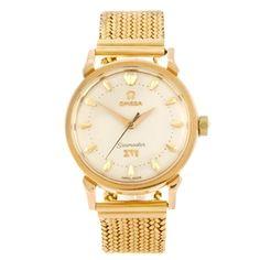 Lot: 112 OMEGA - a gentleman's Seamaster XVI Melbourne Olympic 1956 bracelet watch. Estimate GBP: £1,200 - £1,800