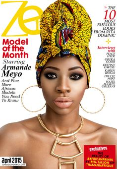 April Cover Star, Armande Meyo!