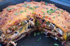 "Mexican ""Lasagna"" recipe"