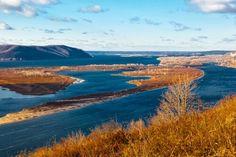 Volga River near Samara, Russia