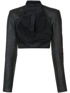 GARETH PUGH Leather Bolero. #garethpugh #cloth #bolero