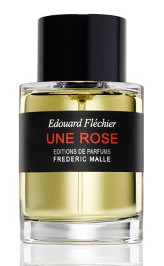Giovanna Battaglia's favorite. Une Rose for women by Edouard Fléchier for Frederic Malle .