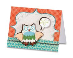 CRICUT IMAGINE™ MERCI CARD This cute thank you card is sure to make the recipient smile!